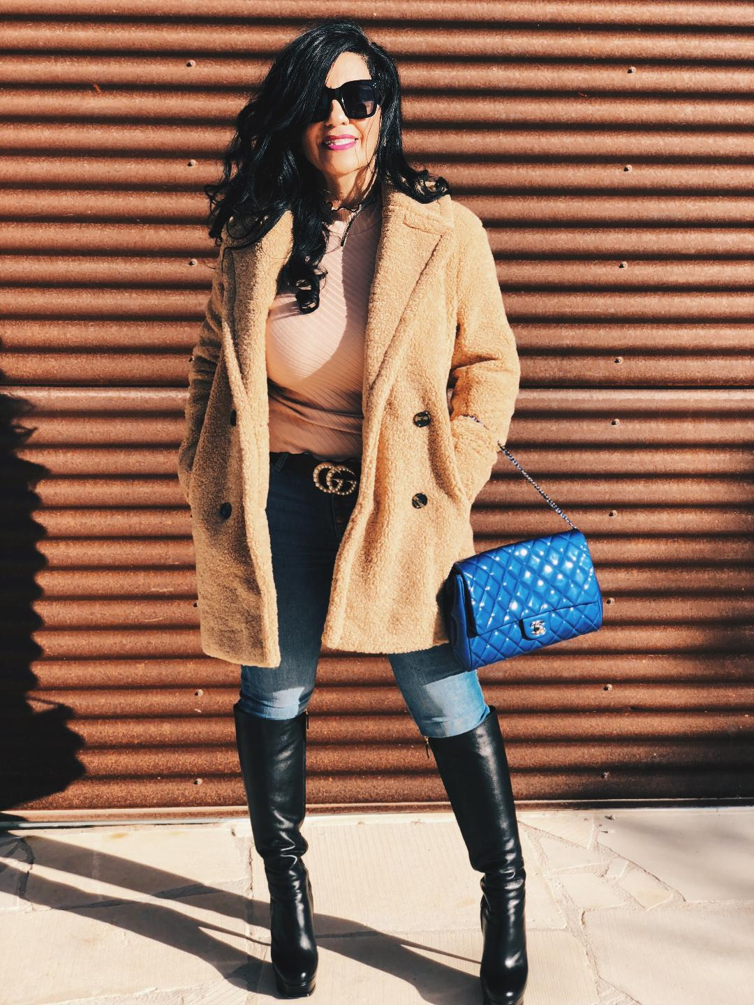 Denim and The Camel Coat