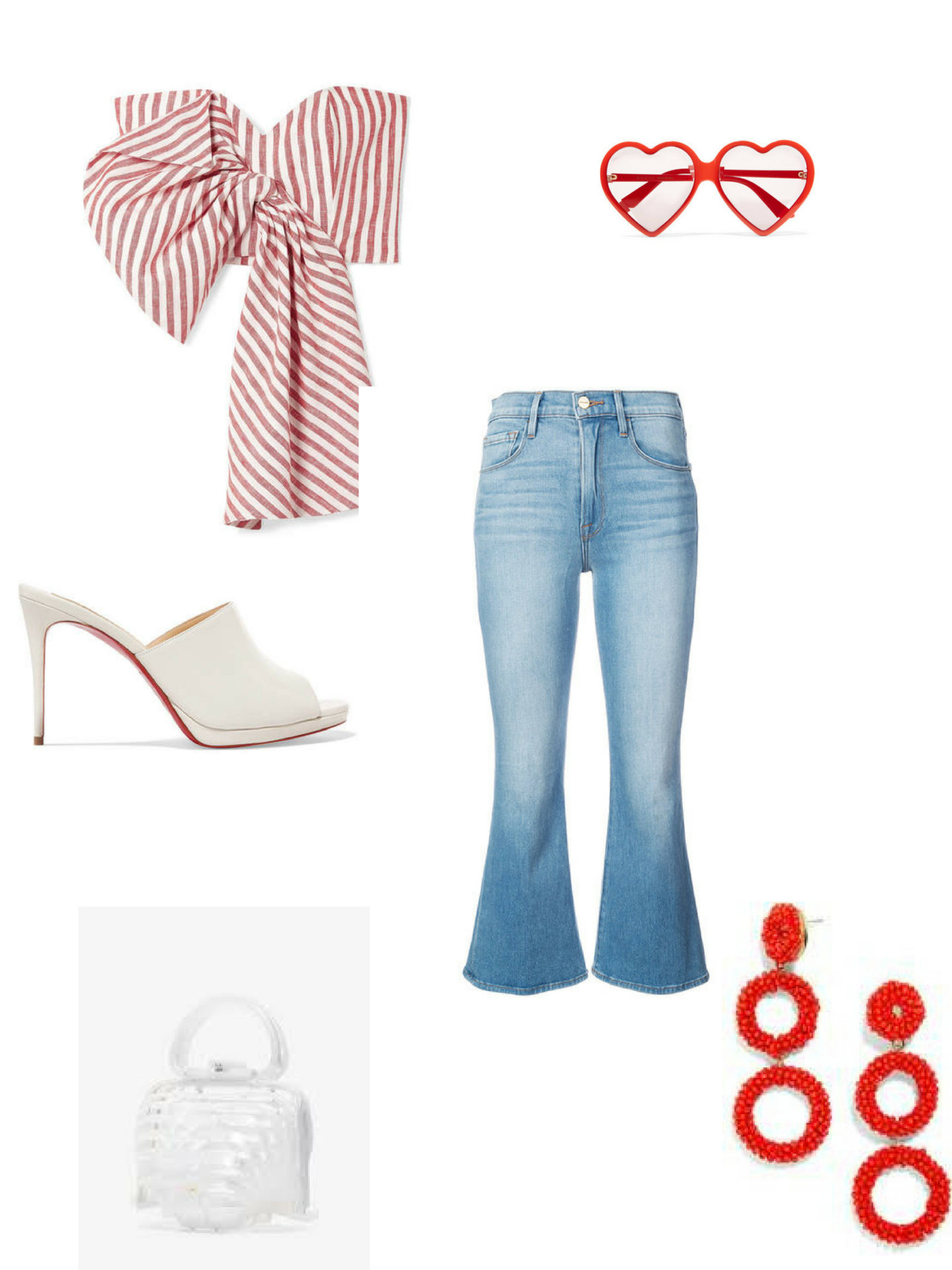 Red, White and Blue Jean