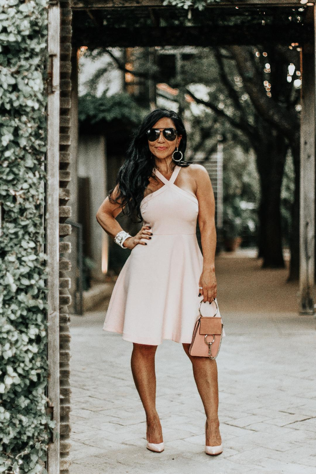 The Perfect Little Pink Dress