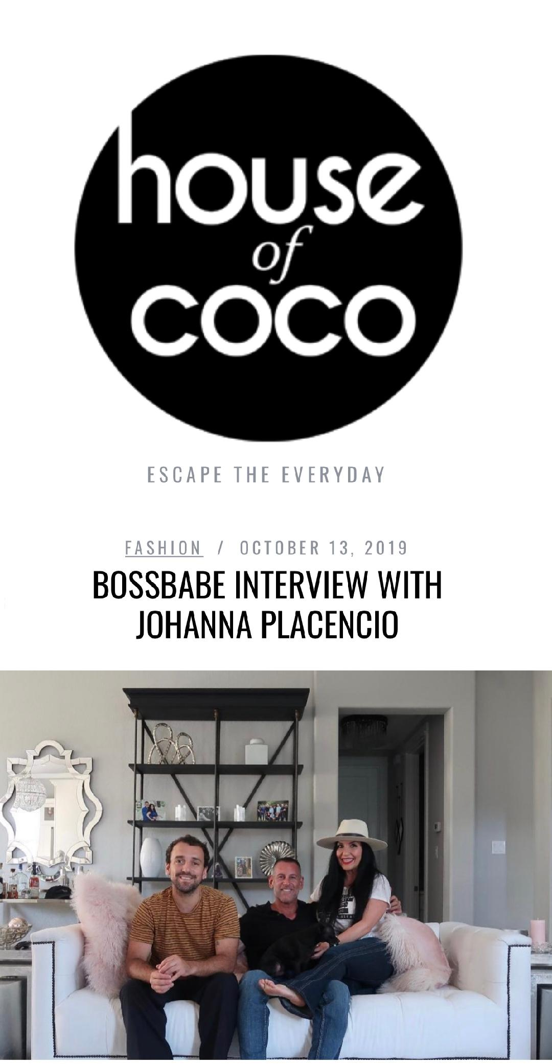 House Of CoCo Boss Babe Magazine Feature